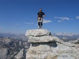 The summit of Tenaya Peak