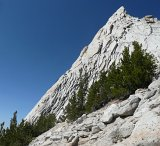 The SE Buttress of Cathedral Peak
